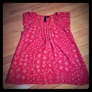 Flowy red top ***ready for summer